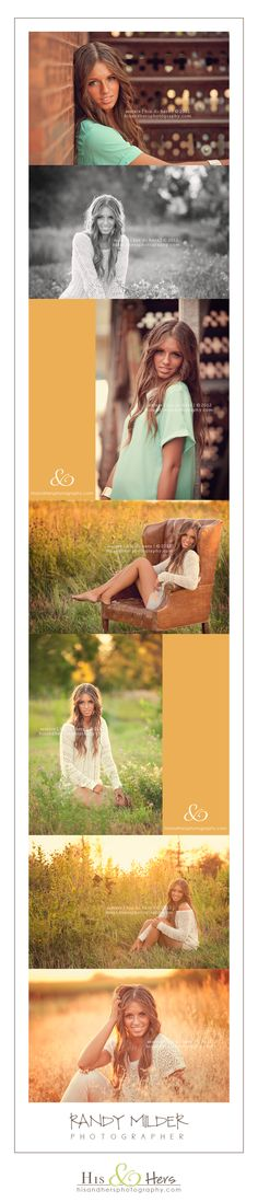 Senior Portraits, Iowa photographer, Randy Milder | His & Hers