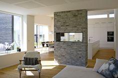 væg mellem køkken og stue - Google-søgning Kitchen Dining, Decor, Inspiration, House, Kitchen, Home, Dining, Home Decor, Room