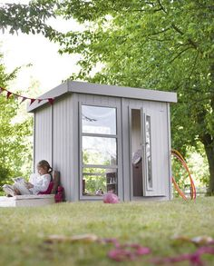 1000 images about abri de jardin on pinterest chalets bricolage and house siding - Cabane en bois leroy merlin ...