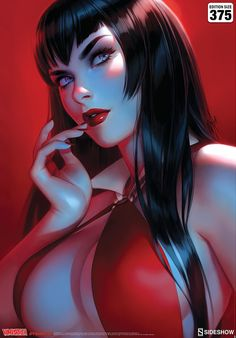 Vampirella #7 Fine Art Print by Warren Louw | Sideshow Collectibles