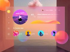 UIUX Design Inspiration : Every day most digital designers look for inspiration on sources like Dribbble or Behance for mobile and . Web Design Examples, Web Ui Design, Page Design, Graphic Design, Branding Design, Web Layout, Layout Design, Fluent Design, Logos Ideas