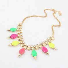 Fluorescence Choker Necklace Fashion Necklaces