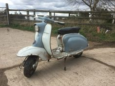 Original Lambretta Li 150 Series 1 1959 NOVA'd and dated | eBay