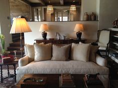 english country style living interior design - Google Search