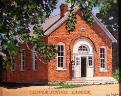 Clover School in Lapeer, Michigan by Leland Mick, via Flickr