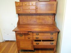 NEW PRICE Vintage Bakery Baker's Table Hoosier by roosteriver, $875.00