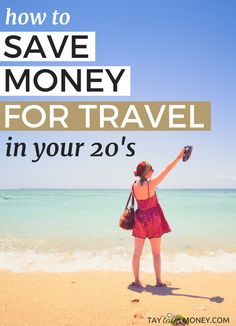 #teamtravel ! If you want to save money for travel in your 20's it can be tough. Here are savings tips that can help you see more of the world.