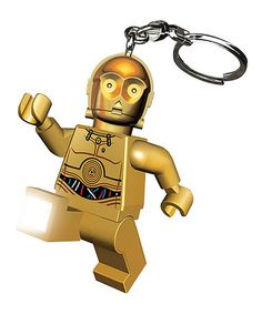 Take a look at this Lego Star Wars C3PO Key Chain Light by Star Wars on #zulily today!