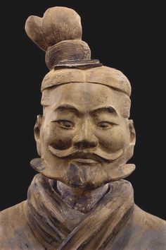 Light infantryman, Qin dynasty BC), Terracotta, Excavated from Pit Qin Shihuang tomb complex Image from the Qin Shihuang's Terracotta Warriors and Horses Museum, ©Photograph by Xia Juxian and Guo Yan Asian History, Art History, Statue Art, Qin Dynasty, Terracotta Army, Art Premier, Art Sculpture, China Art, Ancient China