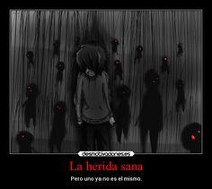 carteles muerte dolor frases redgame jeff the killer creepypasta cambio herida oscuridad tinieblas desmotivaciones
