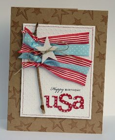 4th of July Card Design