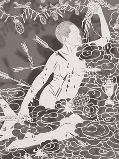 Papel de arroz, tesoura e a surpreendente arte de Bovey Lee