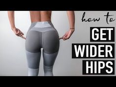 Best exercises to grow the SIDE BOOTY // WIDER HIPS Workout ─ Get rid of Hip Dips! Wondering how to get wider hips & get rid of hip dips? Here Made are best exercises to grow the side booty and fill out your hip dips! Dip Workout, Gym Workouts, At Home Workouts, Workout Plans, Tummy Workout, Workout Dumbell, Aerobics Workout, Wider Hips Workout, How To Widen Hips