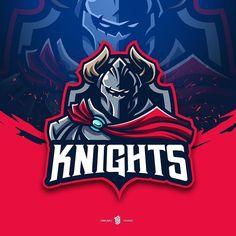 Game Logo Design, Sports Team Logos, Branding, Logo Inspiration, Knight, Gaming, Graphic Design, 100 Free, Studio