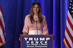 A estilista de Michelle Obama se recusa a vestir Melania Trump
