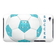 Diamond Gemstones Aqua Soccer Ball iPod Touch cases - http://www.zazzle.com/diamond_gemstones_aqua_soccer_ball-179581576033352667?rf=238575087705003771
