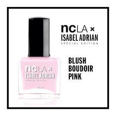 NCLA x Isabel Adrian : Blush Boudoir Pink  www.shopncla.com