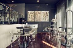 Mobilier bar hotel restaurant : tabourets de bar design Diablito - Sledge
