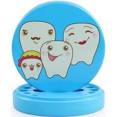 New Arrival Baby Teeth Box Organizer Small Storage Box Best Gift Home Supplies Cartoon Milk Teeth Storage Box 4 Colors #Affiliate