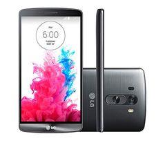 Lançamento...Smartphone LG/ G3 D855/ Display 5.5/ 4G/ Android 4.4/ 16 GB/ 13 MP/ Titanium - Girafa.com.br