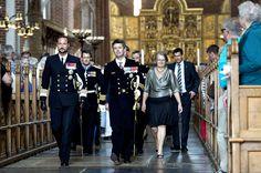 Guàrdia de SM el Rei i la Guàrdia Reial Royal també van participar en la cerimònia.