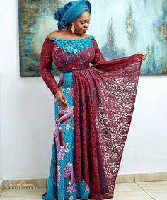 ankara stil Looking for modern ankara styles to sew for your events? We have 30 latest Ankara style designs people are loving at this time you can look at. African Maxi Dresses, Ankara Dress Styles, African Wedding Dress, Latest African Fashion Dresses, African Dresses For Women, African Attire, Wedding Dresses, Aso Ebi Lace Styles, African Lace Styles
