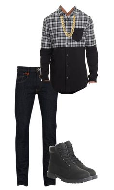 """Untitled #238"" by xoxo-maneshass on Polyvore featuring Replay, Timberland and CC SKYE"