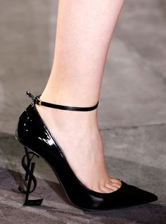 The 39 Shoes of Spring 2017 Fashion Month That We Can't Stop Thinking About - Saint Laurent from InStyle.com