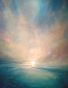 The Future Of Art – Investment Concepts – Buy Abstract Art Right Sky Painting, Painting Gallery, Art Gallery, Landscape Art, Landscape Paintings, Art Paintings, Landscapes, Contemporary Paintings, Modern Art