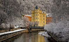Winter story - Karlovy Vary, Bohemia, Czech Repubic