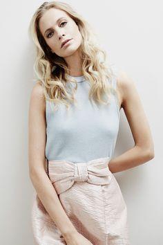 Poppy Delevingne Interview Gallery Vestiaire Collective (Vogue.co.uk) - Prada skirt