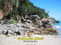 Gota beach is located in Caramoan, Camarines Sur.