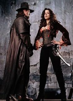 Van Helsing (2004) #CostumeDesign: Gabriella Pescucci & Carlo Poggiolo worn by Hugh Jackman and Kate Beckinsale as Anna Valerious