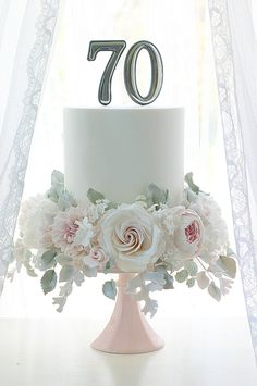 Leslea Matsis Cakes specializes in vintage style weddings cakes for the Wairarapa region in New Zealand. 70th Birthday Cake For Women, Elegant Birthday Cakes, Beautiful Birthday Cakes, Elegant Wedding Cakes, Elegant Cakes, Beautiful Cakes, Birthday Cake For Women Elegant, Fondant Cakes, Cupcake Cakes