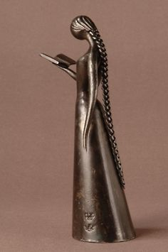 minga2glo:    selmha-livroepoesia:    Escultura em ferro de Jean-Pierre Augier