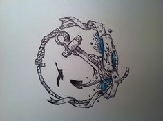 Nautical Tattoo idea of my own design.
