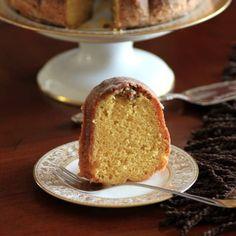 Rum Pecan Bundt is so moist and full of flavor! Cake By The Pound, Butter Pecan Cake, Nothing Bundt Cakes, Grilled Cheese Recipes, Cookie Desserts, Let Them Eat Cake, Cupcake Cakes, Cupcakes, Baked Goods