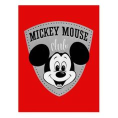 Are you a die hard Mickey Mouse fan? Then you've come to the right place! This vintage design will show your Mickey Mouse Club pride!
