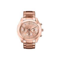 Caravelle NY Women's 44L115 Rose Goldtone Chronograph Bracelet Watch