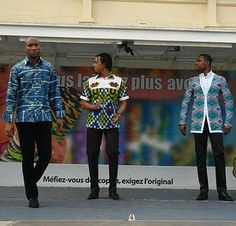 COTE D'IVOIRE(IVORY COAST)--AFRICAN CLOTHING LINE-IVORIAN STYLE.THE FABRICS FROM COTE D'IVOIRE. by NIMBA, via Flickr