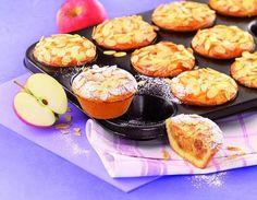 Fruchtige Muffins mit Mandeln