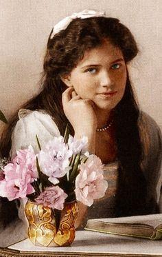 Grand Duchess Maria Nikolaevna (1899 – 1918) of Russia, 1914. #history #Romanov