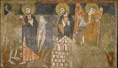 The Temptation of Christ by the Devil - San Baudelio de Berlanga