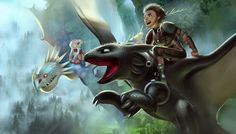 how to train your dragon 2 looks amazing, I'm praying to the gods of animated movies that it'll be a success. I remember how much fanart I did for httyd1, that might happen again ._____.