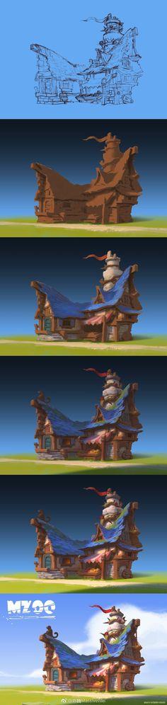 massive-wei-monkey-island-house-step.jpg (960×4052)