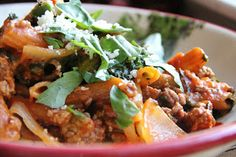 Dinner Tonight: Slow Cooker Spaghetti and Meat Sauce
