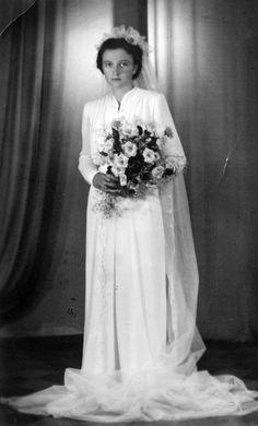 Ullakon aarteita. Those Were The Days, Wedding Costumes, Finland, One Shoulder Wedding Dress, December, Wedding Dresses, Fashion, History, Bridal Dresses