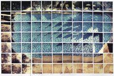David Hockney-- Sun on the Pool