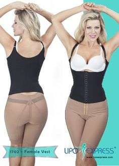 c2182cedfc426 1702 - Female Vest  LipoExpress  Lipo  Beauty  Garment  Girdle  Faja   Health  Motivation  Girl