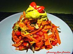 MRKVOVO-DÝŇOVÉ NUDLE S ŽAMPIONOVOU OMÁČKOU Tacos, Mexican, Ethnic Recipes, Food, Meals, Mexicans